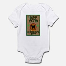 black pug pub shirt Body Suit