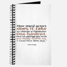 Norm Crosby Actor Joke Journal