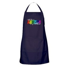 My Cousin My Hero - Autism Apron (dark)