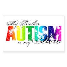 My Brother My Hero - Autism Decal