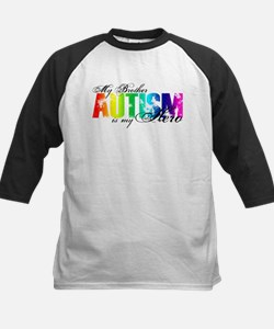 My Brother My Hero - Autism Kids Baseball Jersey