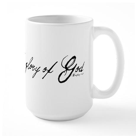 do it all for the glory of God Large Mug