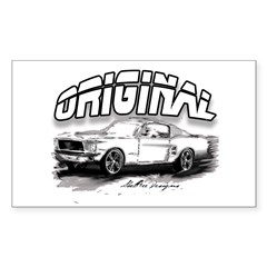 Original MustangW Decal