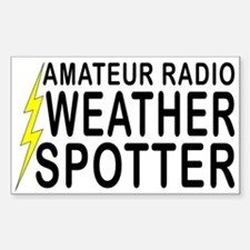 Weather Spotter Rectangle Decal