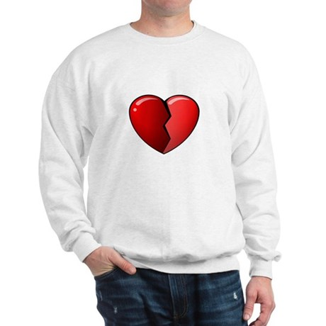 Broken Heart, Anti-Valentine Sweatshirt