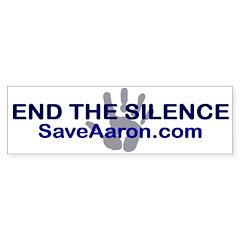 """End the Silence"" Bumper Sticker"