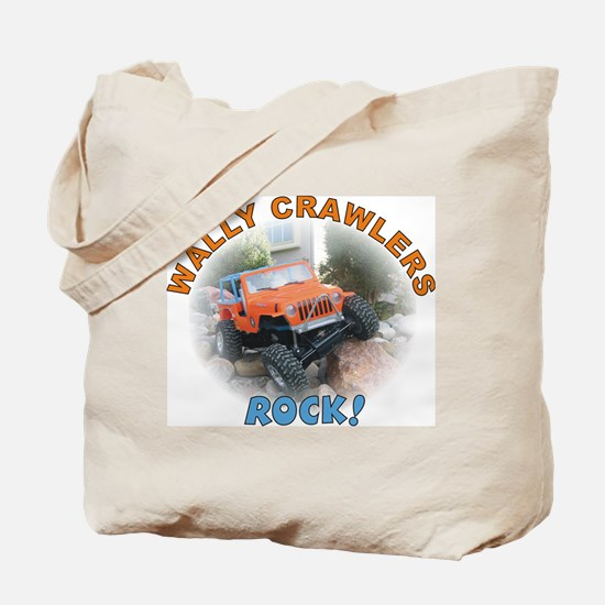 Wally Crawlers Tote Bag
