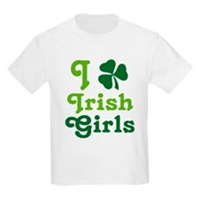 I Love Irish Girls T-Shirt
