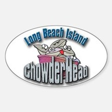 LBI Chowderhead... Oval Decal