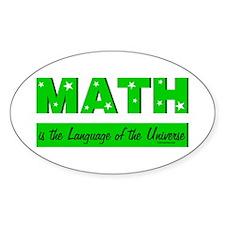 Green Math Language Decal