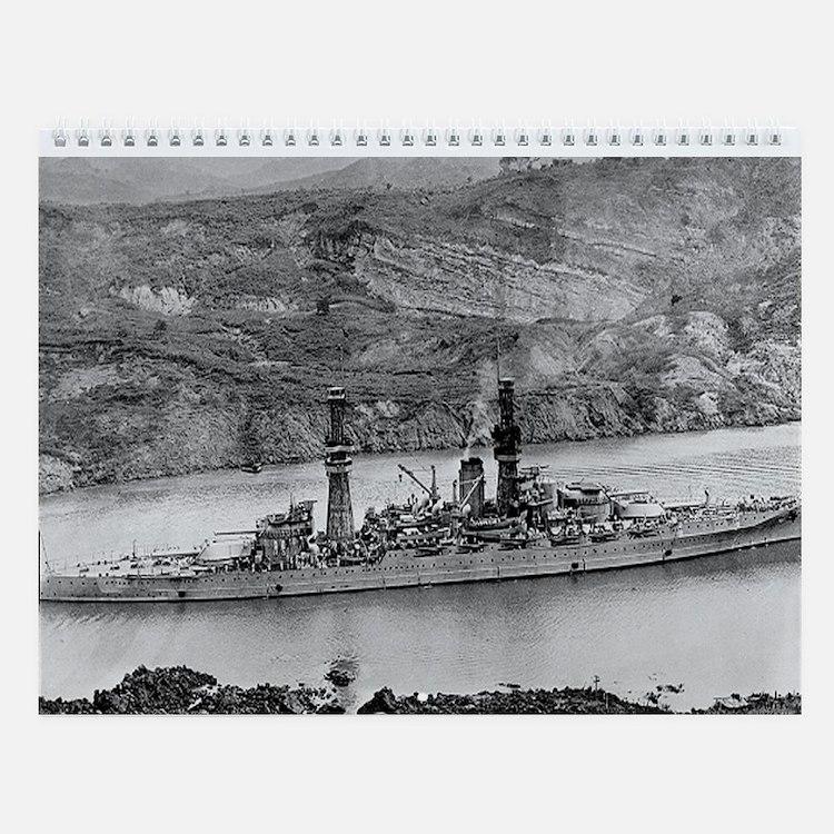 USS Arizona Ship's Image Wall Calendar