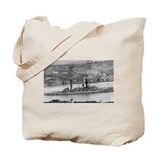 USS Arizona Ship's Image Tote Bag
