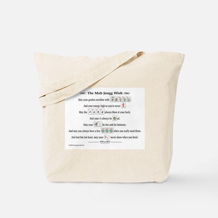 Cute Mah jongg Tote Bag