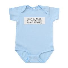Dont Be Afraid! Be INFORMED! Infant Creeper