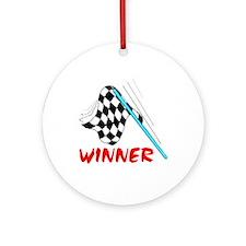 RACE TRACKER Ornament (Round)