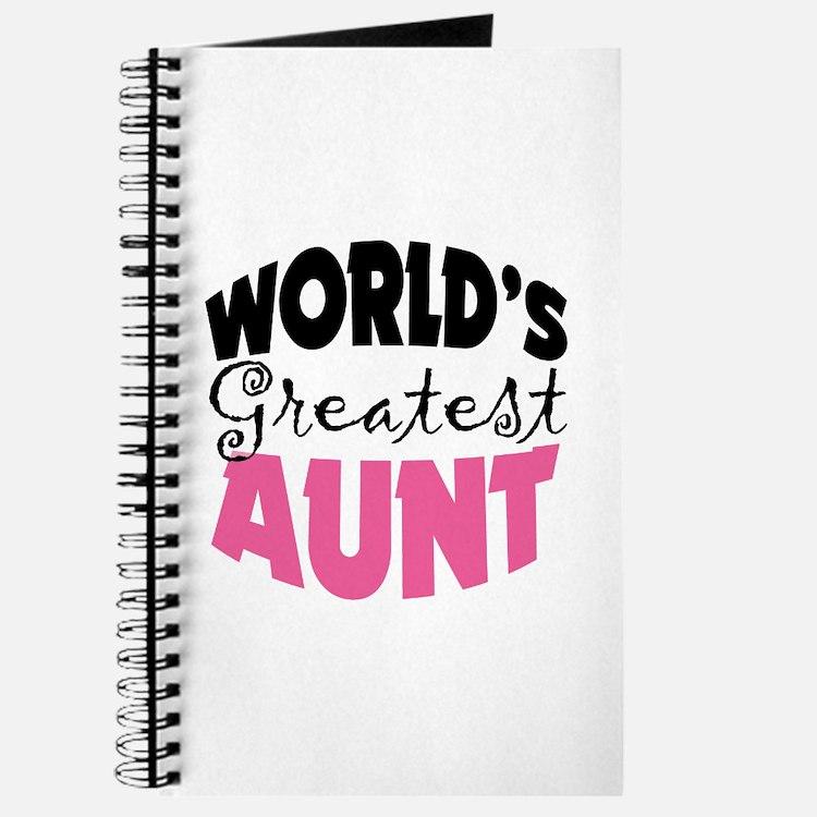 World's Greatest Aunt Journal