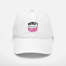 World's Greatest Aunt Baseball Baseball Cap