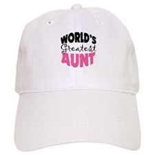 World's Greatest Aunt Baseball Cap