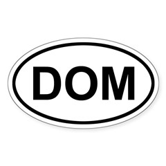 Dominica DOM Decal