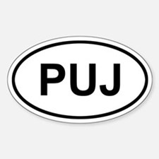 Punta Cana Dominican Republic PUJ Decal