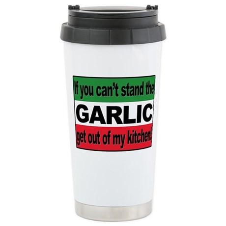 Garlic Stainless Steel Travel Mug