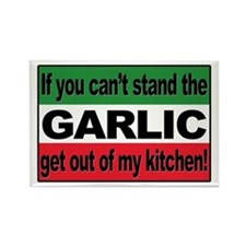 Garlic Rectangle Magnet