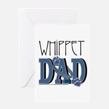 Whippet DAD Greeting Card