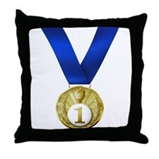 First Place Throw Pillow
