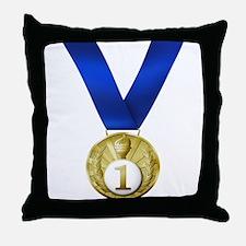 First Place Throw Pillow