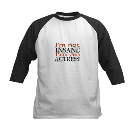 Insane actress Kids Baseball Jersey