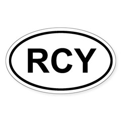 Rum Cay, Bahamas RCY Decal