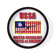 UNITED SOCIALIST STATES of AM Wall Clock