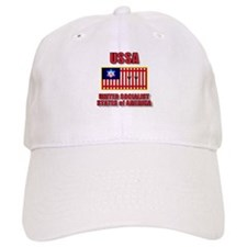 UNITED SOCIALIST STATES of AM Baseball Cap
