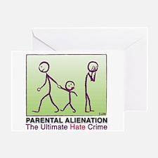 Parental Alienation Greeting Card