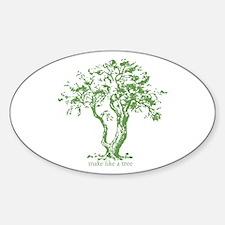 Make Like a Tree Decal