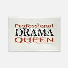 Professional Drama Queen Rectangle Magnet (100 pac