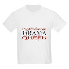 Professional Drama Queen Kids T-Shirt