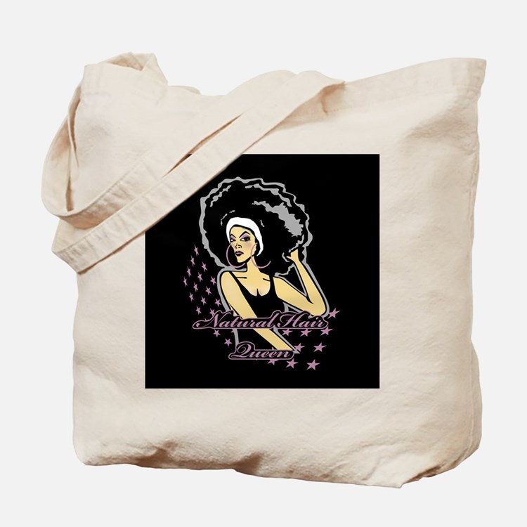 Natural Hair Queen Tote Bag