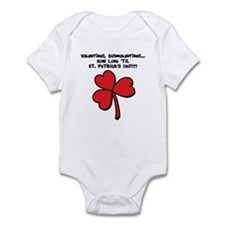 Valentines Schmalentines Infant Bodysuit