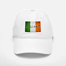 """IRELAND"" on Irish Flag Baseball Baseball Cap"