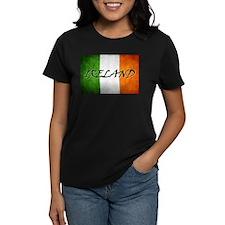 """""""IRELAND"""" on Irish Flag Tee"""
