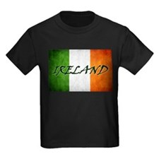 """IRELAND"" on Irish Flag T"