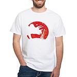 Triceratops White T-Shirt