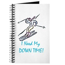 I Need My Down Time! Journal