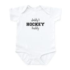Daddy's Hockey Buddy Infant Bodysuit