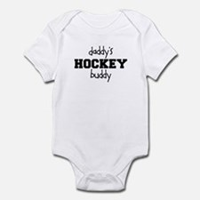Daddy's Hockey Buddy Infant Bodysuit
