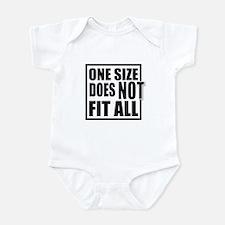 Unique Fat boy Infant Bodysuit