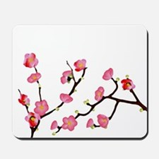 flowering quince Mousepad