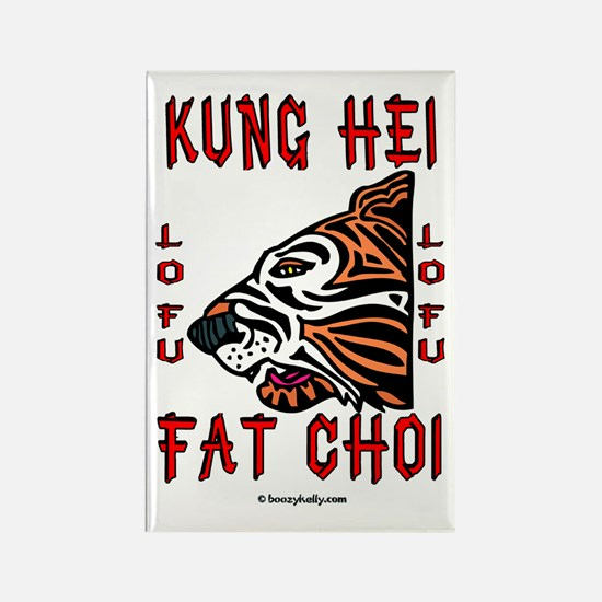 Kung Hei Fat Choi Rectangle Magnet,New Year