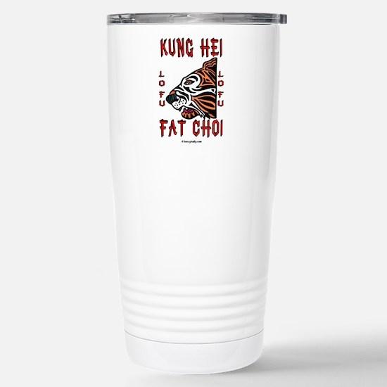 Kung Hei Fat Choi Stainless Steel Travel Mug